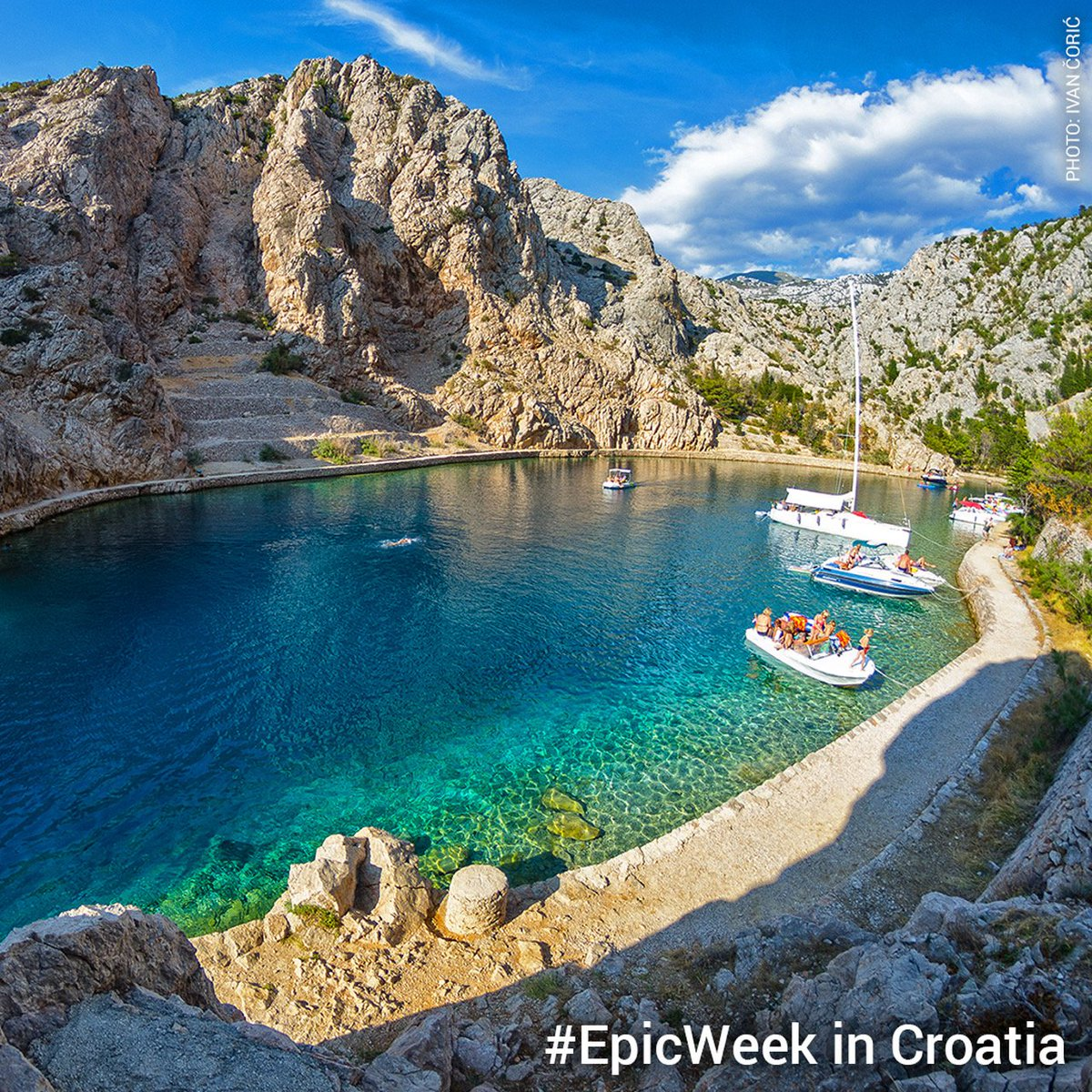 What is on your Croatia bucket list?  Take part for your chance to WIN an #EpicWeek in Croatia by creating your own perfect holiday – LAST CALL to go epic in Croatia:  http:// bit.ly/2wZLTBk     <br>http://pic.twitter.com/ZEvytUQ3T0