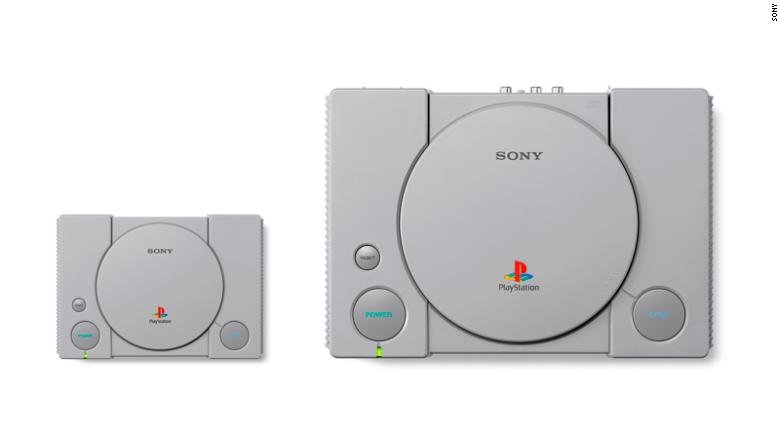 Sony gets in on the retro console craze with PlayStation Classic https://t.co/EnKHwdjy1j