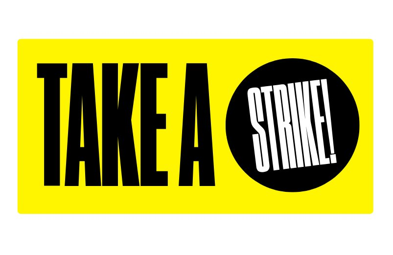 Pick up free back issues of STRIKE! Magazine on your visit to the #FromNopeToHope exhibition, organised by the #NopeToArms collective of artists as part of @BrixtonDT. Free entry, free magazines! 9am-9pm, entrance on Pope's Road opposite Pop Brixton. nopetoarms.org 🖤💛