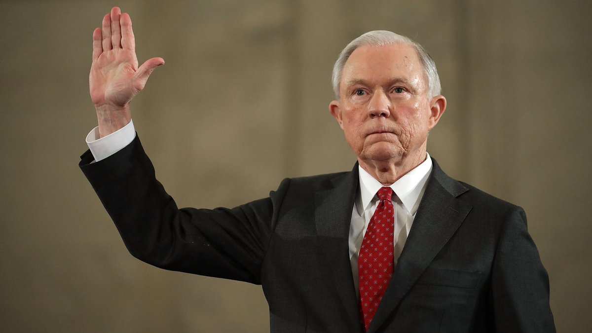 """Trump: """"I don't have an attorney general. It's very sad."""""""