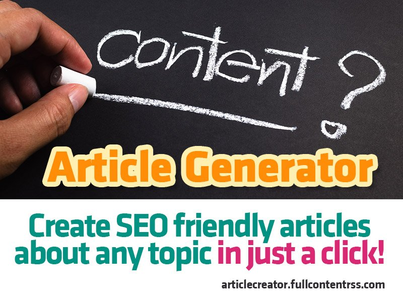 ARTICLE GENERATOR! Create SEO friendly UNIQUE articles in JUST A CLICK! https://t.co/cWURLTZIOn * Learn Google Ads and SEO Strategies to Grow Your Business #blogging #blogger #contentmarketing #seo #seotools #linkbuilding #backlink #googleseo #smm… https://t.co/OVFXRBs5WG