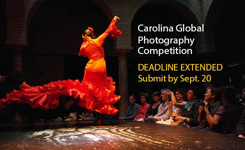 The deadline for the 2018-2019 Carolina Global Photography Competition is tomorrow! All #UNC students, faculty, alumni and staff are encouraged to submit their remarkable photos from abroad ➡️ https://t.co/I36gEqDEGU @UNC_Global @unccgi @uncstudyabroad https://t.co/p5Lem2ypTe