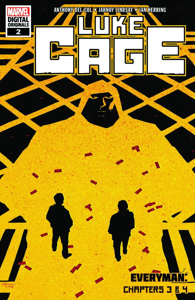 Start #NCBD with the next two chapters from #LukeCages Marvel Digital Original! Lukes unbreakable no more, while an assassin targets his best friend. Pick up the double-sized second issue: bit.ly/2D7crH5