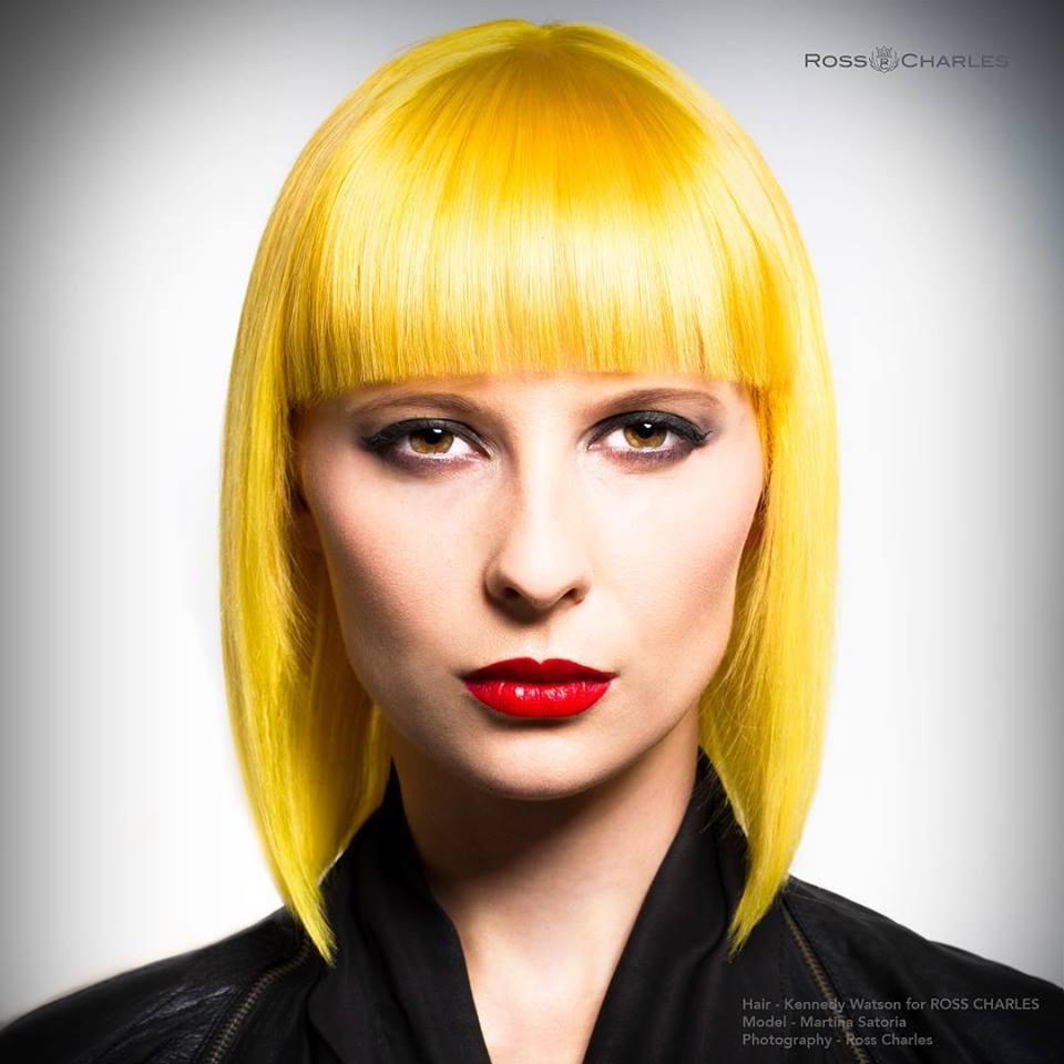 Hairstyles: Yellow Bob Hairstyles