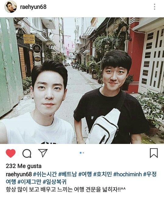 19/09/2018 RaeHyun fotos en Instagram, vacaciones en Vietnam DndjiY7U8AEt2Oo