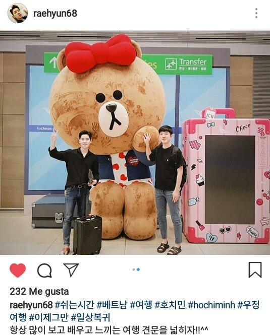 19/09/2018 RaeHyun fotos en Instagram, vacaciones en Vietnam DndjjkTVAAAeu2B
