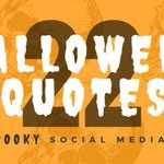 22 #Halloween Quotes for Spooky Social Media Posts #SMM https://t.co/bbLAVVodil
