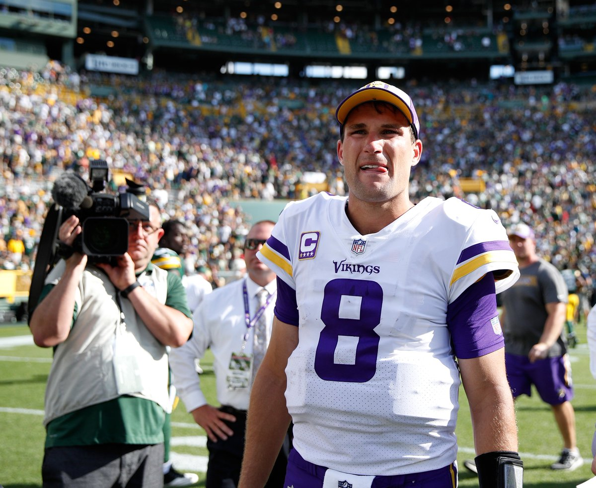 "Kirk Cousins is drawing rave reviews with the Vikings. One source told @mikefreemanNFL he ""could tear our league apart"" 😲 bit.ly/2pkz2X5"