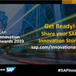 The #SAPinnovation Awards are open to customers and partners using any SAP product or technology to drive innovation. Start planning your submission! Check out the new blog: https://t.co/aCY7Nyj6QC