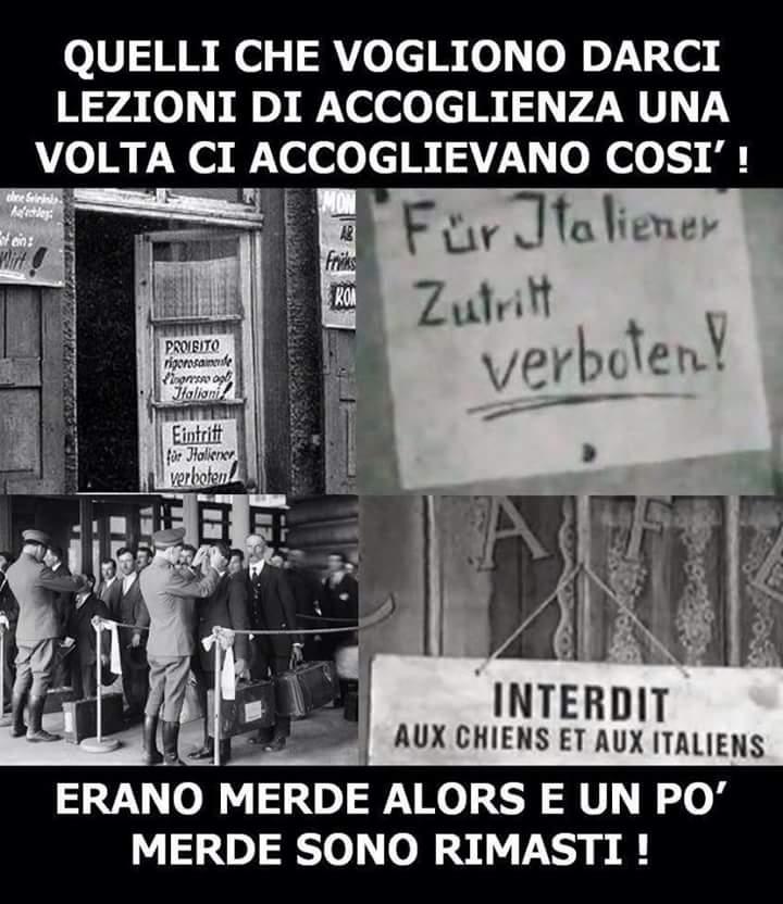 GIUSTO PER NON DIMENTICARE!  Alcuni europei erano CHIAVICHE  prima e dopo decine di anni, SONO RIMASTI DELLE CHIAVICHE!!!#Salvini #iostoconsalvini #Bruxelles #dimartedì #lariachetirala7 #privacy #Söderholm #eurozona #calcinculo #magnaMagnaPD #cenaPD #30settembre #Diciotti  - Ukustom