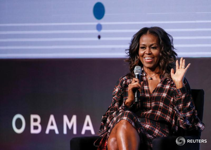 Michelle Obama announces a 10-city U.S. stadium tour to support her upcoming memoir 'Becoming' https://t.co/sWSXeTHpcA