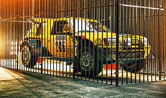 Colpo di genio: così al Museo dell'Automobile di #Torino, il #Mauto, è stata esposta la #Peugeot205 T16 da gara. Il  #Leone è stato rinchiuso in gabbia!  - Ukustom