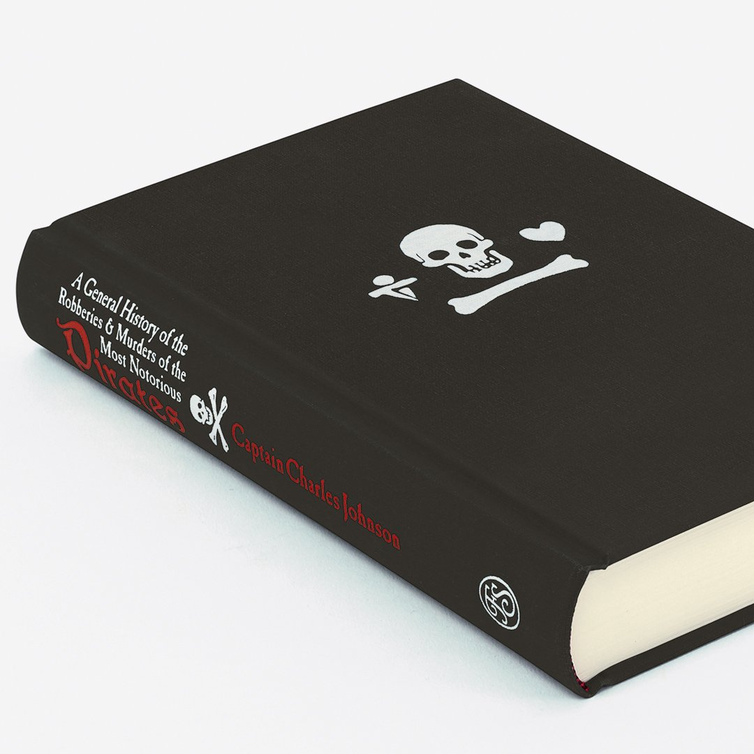 Such a day; rum all out: - Our company somewhat sober: - A damnd confusion amongst us! - Rogues a-plotting. On #TalkLikeAPirateDay, where better to look than Blackbeards own journal? Dont miss our stunning Pirates edition: foliosociety.com/a-general-hist…