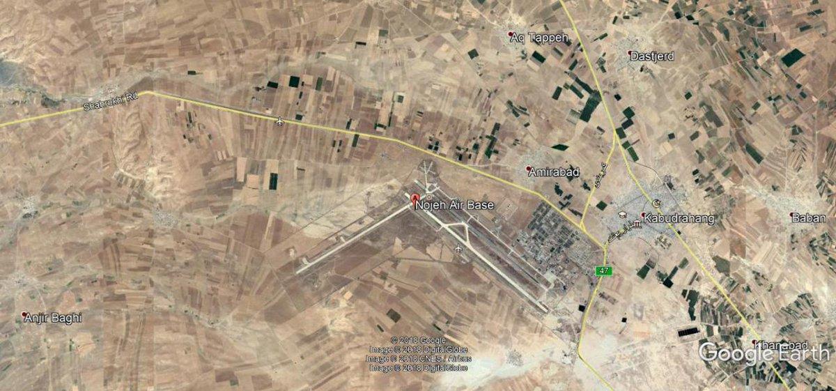 РФ попросила Иран предоставить доступ к авиабаза в Нойе