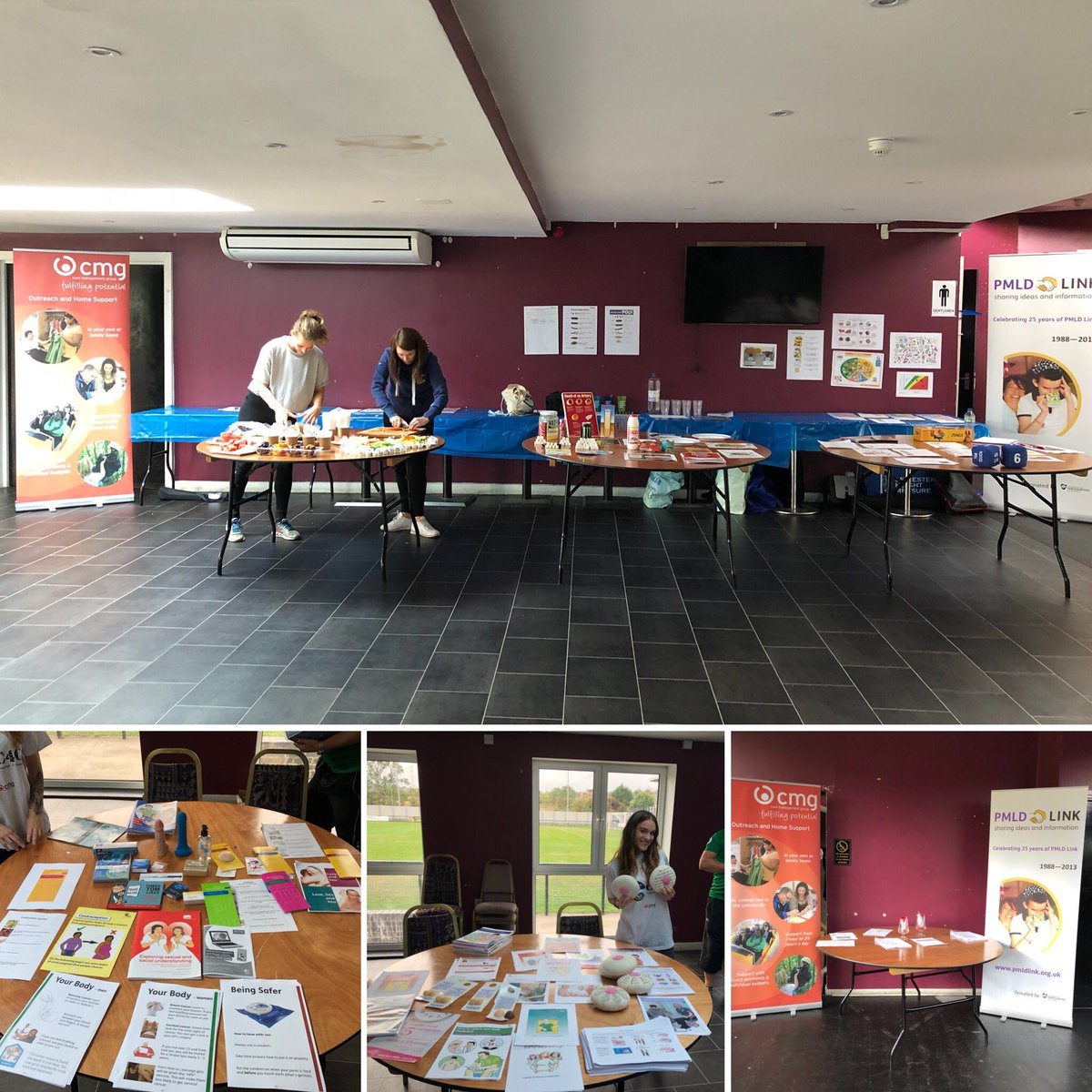 Another great day @CMGCare_Support 'Let's Get Physical' event. An opportunity to promote physical, emotional and sexual health. 5aside footie tournament, #walkingfootball and aerobics. #promotinghealth #tacklinghealthinequalities #gettingfit<br>http://pic.twitter.com/wbH9WUfIB7