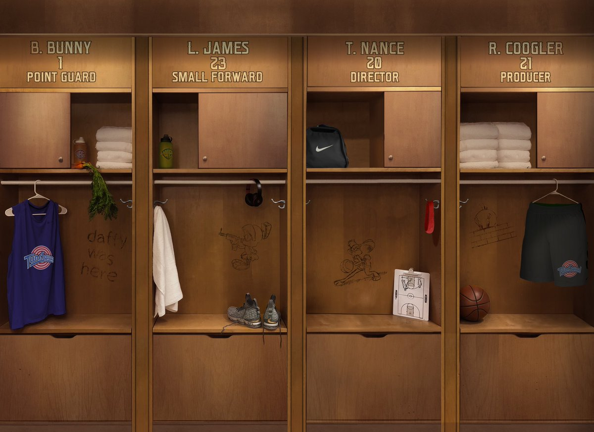 Our first look at Space Jam 2!  Bugs Bunny LeBron James Directed by Terence Nance Produced by Ryan Coogler