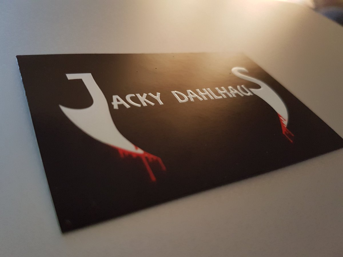 Jacky dahlhaus on twitter my name is actually in 3d as in raised if you have your business cards made go for it too its so cool businesscards vistaprint authorlifepicittercgemsmcbyv colourmoves