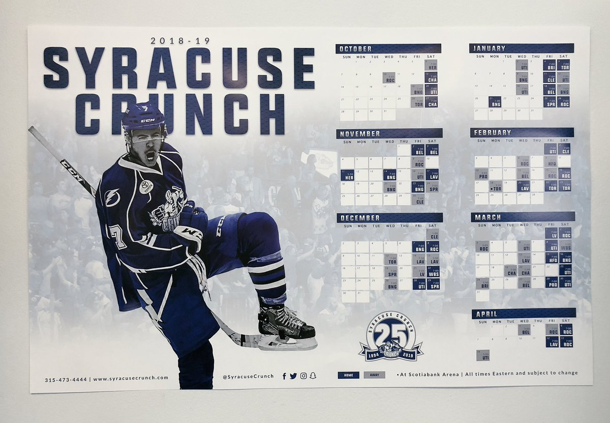 "syracuse crunch on twitter: ""they're here. 👊 we're just as pumped"