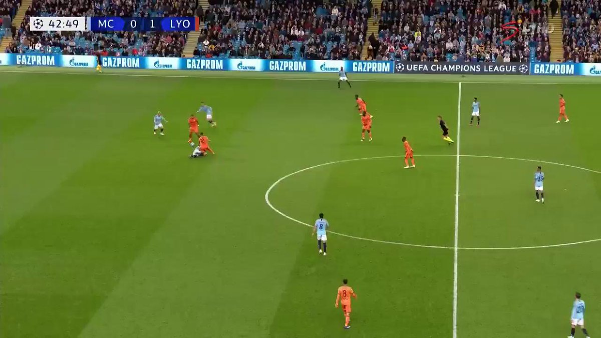 Man City were stunned by Lyon as the French club clinched all three points at the Etihad. https://t.co/T7G4m2GNyS