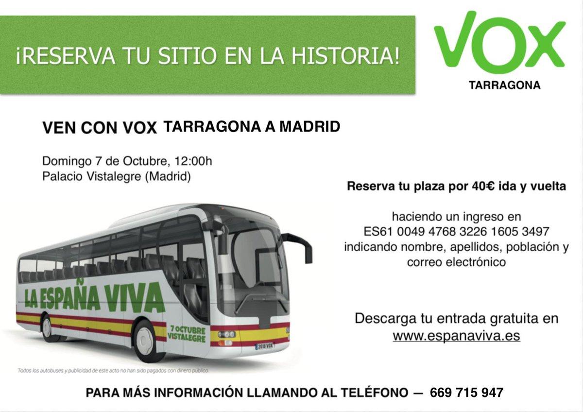 Vox Tarragona On Twitter Acto De Vox En Vistalegre Salida En