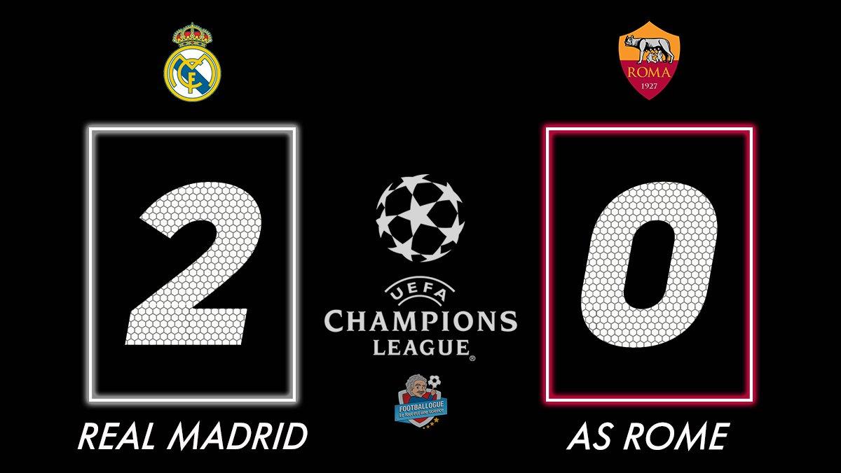[#LDC🏆] REAL MADRID🇪🇸 2-0 🇮🇹AS ROME  ⚽️ BUUUUUUUUUUUUUT DE BALE !  #RMAASR