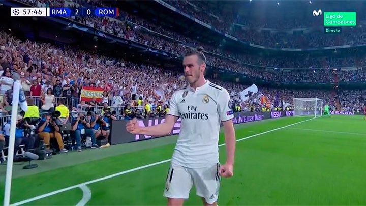 Un tren llamado Bale. #ChampionsMLC