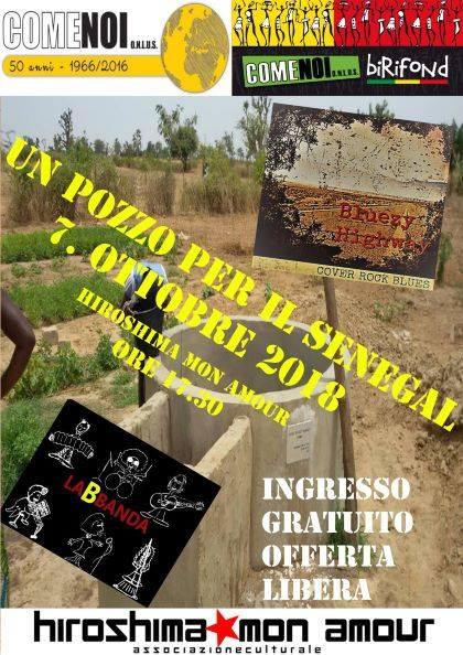 #Eventi: di #ComeNoiOnlus, Un pozzo per il Senegal, 7 ottobre, ore 17,30, Hiroshima Mon Amour, Via Bossoli 83, #Torino. Eventi #solidali by  http:// www.xlestrade.org/eventi/  - Ukustom