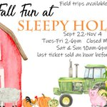 Take the entire family to Sleepy Hollow Farm in Powder Springs for fresh air and fall fun. Starting September 22, guests can enjoy tractor rides, a corn maze, and go on the hunt for a perfect pumpkin in the pumpkin patch. https://t.co/8Q73e2HKVh