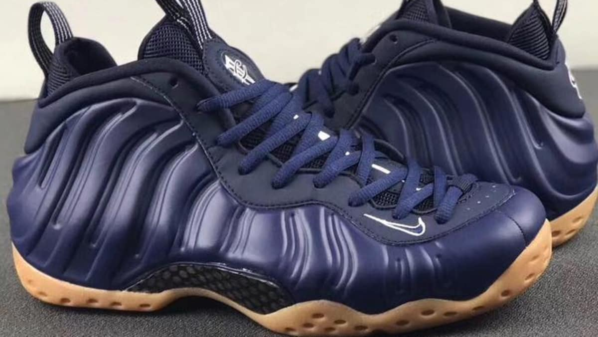 Navy and gum Foamposites for the fall: trib.al/s5jBEVl