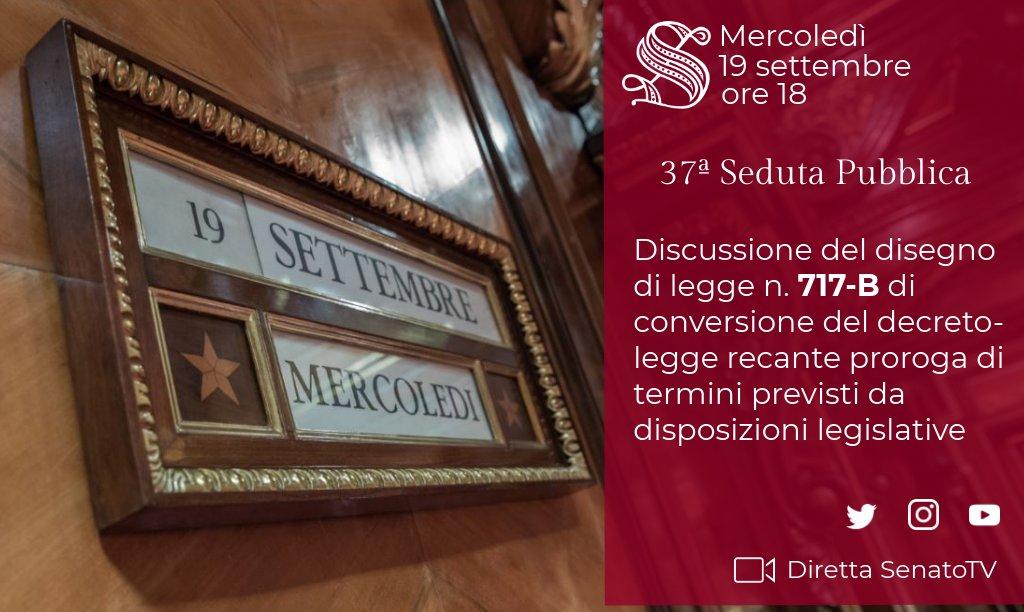 #OpenSenato. In Aula discussione del ddl 717-B di conversione in legge, con modificazioni, del decreto #Milleproroghe →  http:// www.senato.it/leg/18/BGT/Schede/Ddliter/50578.htm Diretta su #SenatoTV → https://t.co/YLMe3Ja6f6  - Ukustom