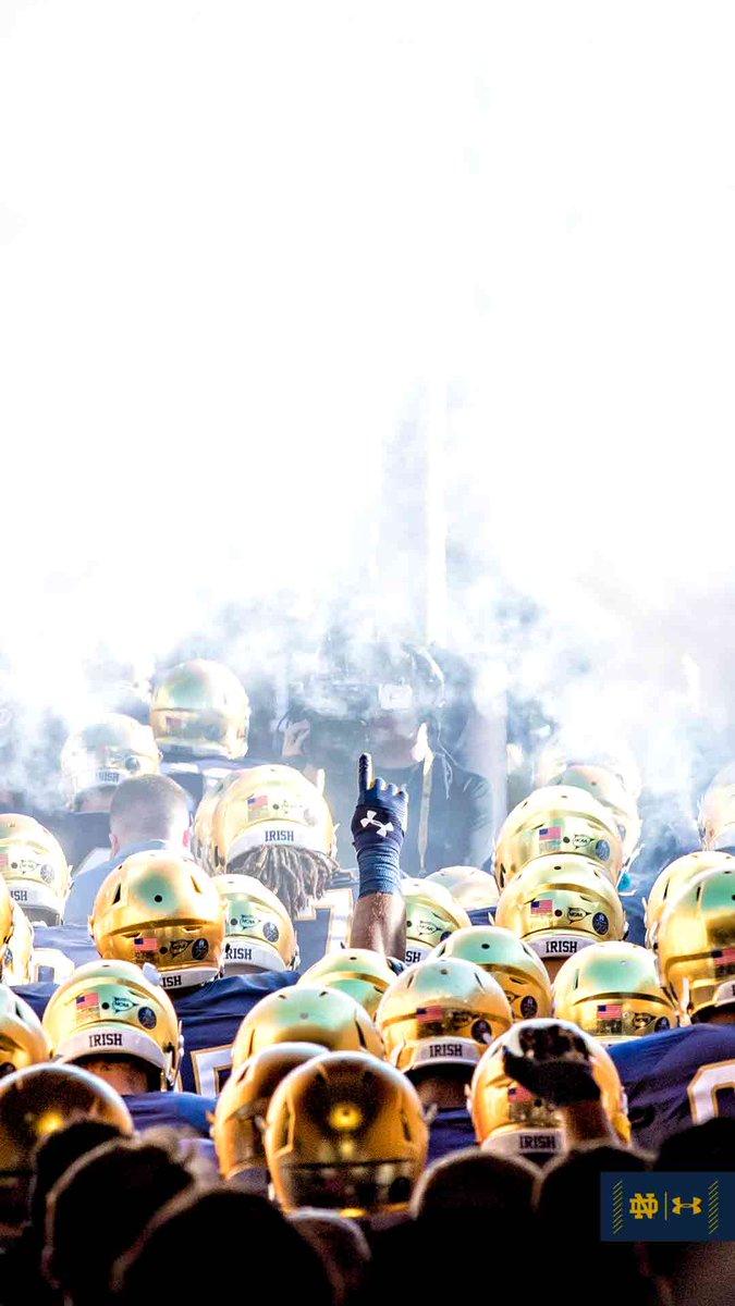 Notre Dame Football On Twitter Wallpaperwednesday Irish