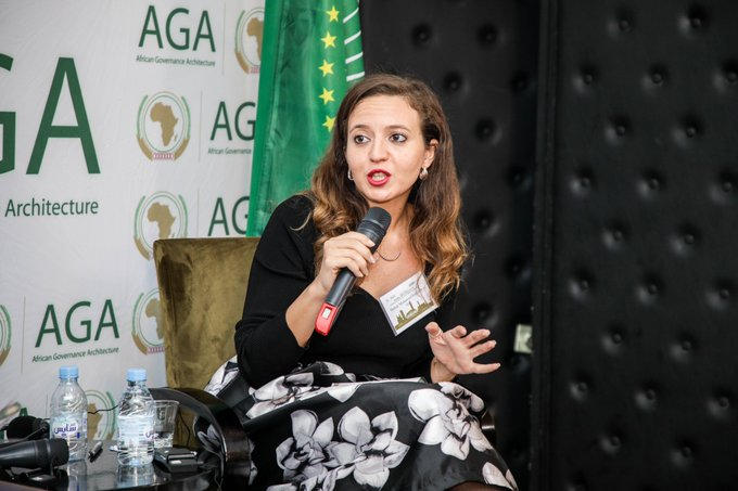 Mauritania, Zimbabwe, Namibia have lots of youth councils. We hope to have youth-led councils that will collaborate in drafting policies with the parliamentarians in governments. - Samar Mohammed Roushdy #AfricaAgainstCorruption #DGTrends Fotoğraf