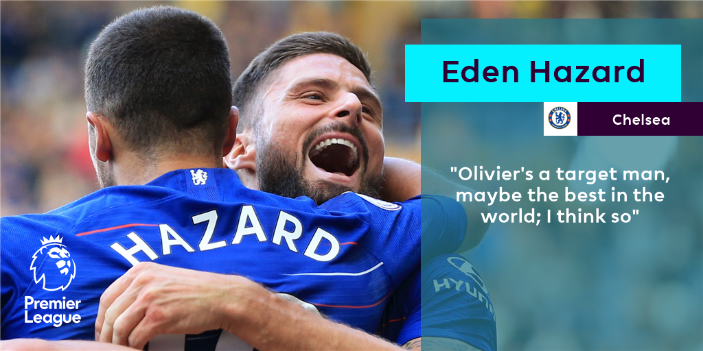 Agree with this season's top scorer?   #WednesdayWisdom @ChelseaFC