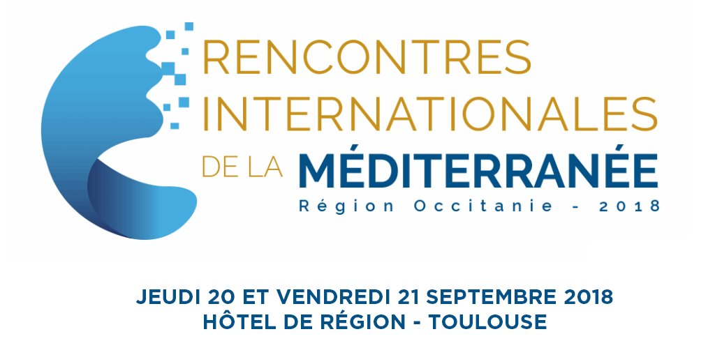 Demain et après-demain, venez participer aux Rencontres Internationales de la #Méditerranée : 2 jours d\