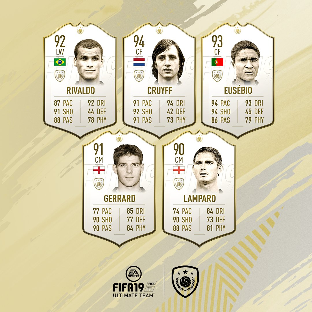 All Prime ICONs 🌟 are available in packs at launch in #FIFA19 #FUT