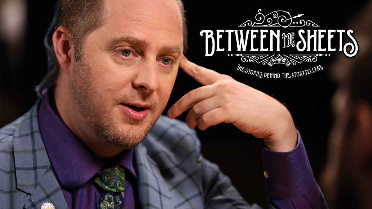 Our own @executivegoth joins host @BrianWFoster for the premiere episode of #BetweenTheSheets, a one-on-one interview series that examines the stories behind the storytellers and the recipes behind their signature cocktails. WATCH: youtu.be/gZyspWOP0o8