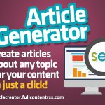 ARTICLE CREATOR! Create ANY articles for your content in just a click!  ** Real estate agents use digital strategy to get buyers  #socialmedia #seomarketing #onlinemarketing #blogger #wordpress #adsense #blogging #backlink #websit… https://t.co/Ie7MGrhePM