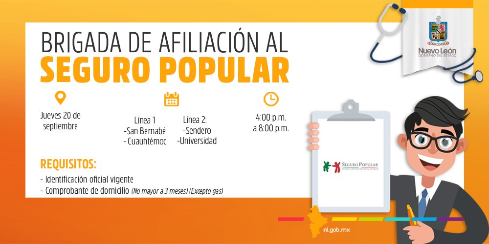 Gobierno Nuevo León On Twitter Te Esperamos El Día De