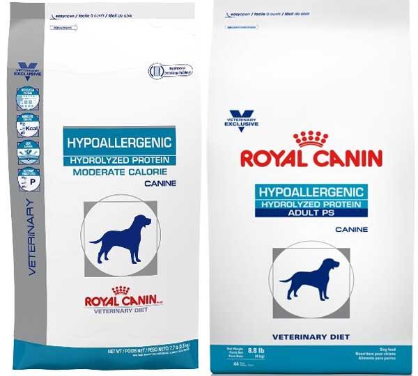 Гипоаллергенную диету у собак