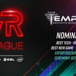 Image for the Tweet beginning: The VR League has been