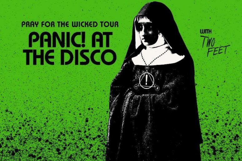Were still getting over how good @PanicAtTheDisco was last month in SJ & now were looking forward to their @OracleArena show 5 months from tonight! #PrayForTheWicked