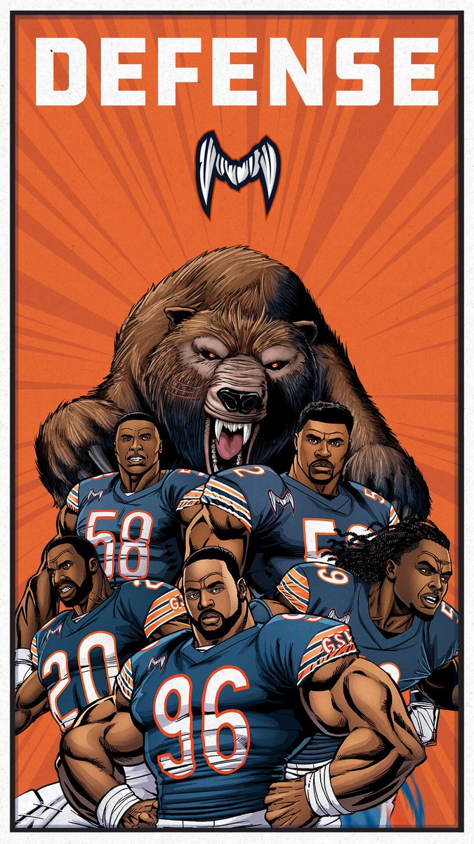 "Chicago Bears on Twitter: ""Your phone deserves these. #WallpaperWednesday 