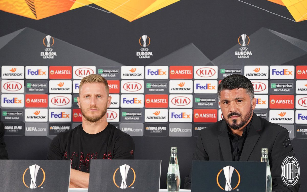 🗣️ That's all from the pre-match press conference. Stay with us for more build-up on #DudelangeMilan here and at https://t.co/JtvovTfCHn  #UEL