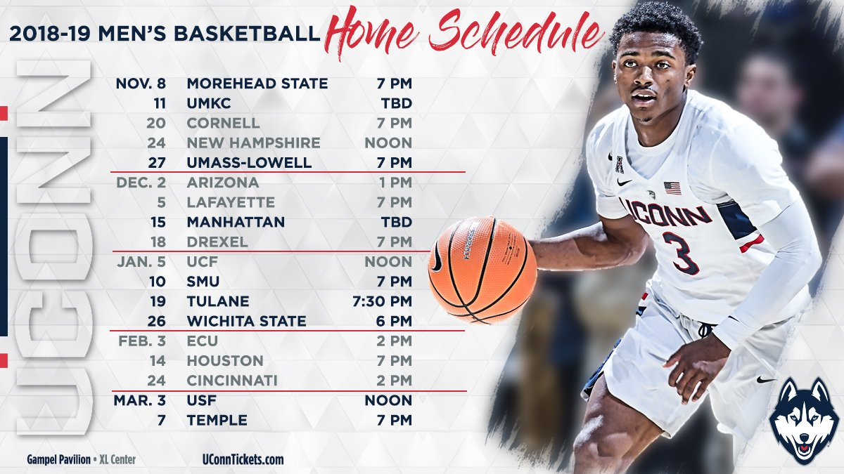 """uconn men's basketball on twitter: """"the wait is over! our"""