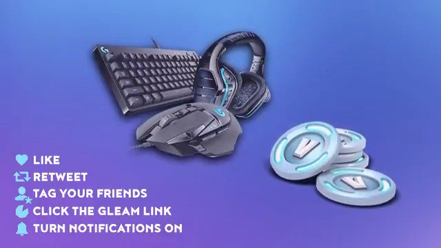 """💰 Dakotaz Exclusive """"LOGITECH"""" Give Away!  🛡️ Enter here: https://gleam.io/4yao8/logitech-giveaway… 💎 Make sure to Like, Retweet, and Follow @dakotaz  🔋 Tag your friends with @'s 💳 Must have Paypal to collect the vbucks. 🥳 Good Luck everyone!"""