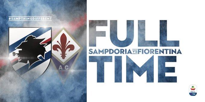 Sampdoria-Fiorentina 1-1, Caprari risponde a Giovanni Simeone: gol e highlights