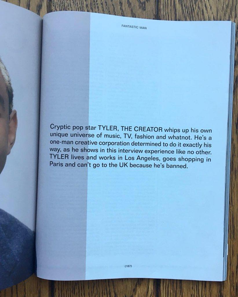 Tyler, The Creator (@tylerthecreator) on Twitter photo 19/09/2018 19:07:04