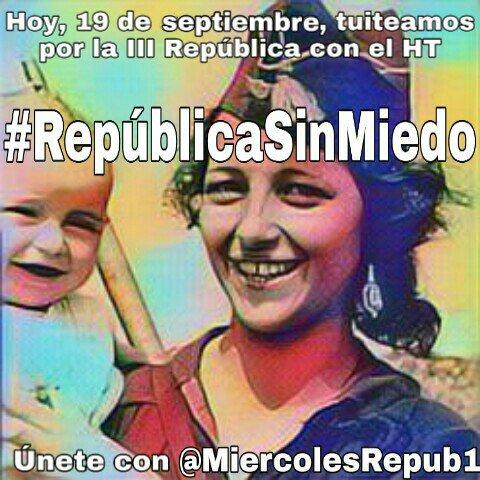 #RepublicaSinMiedo Yo sigo a @MiercolesRepub1 y tú?