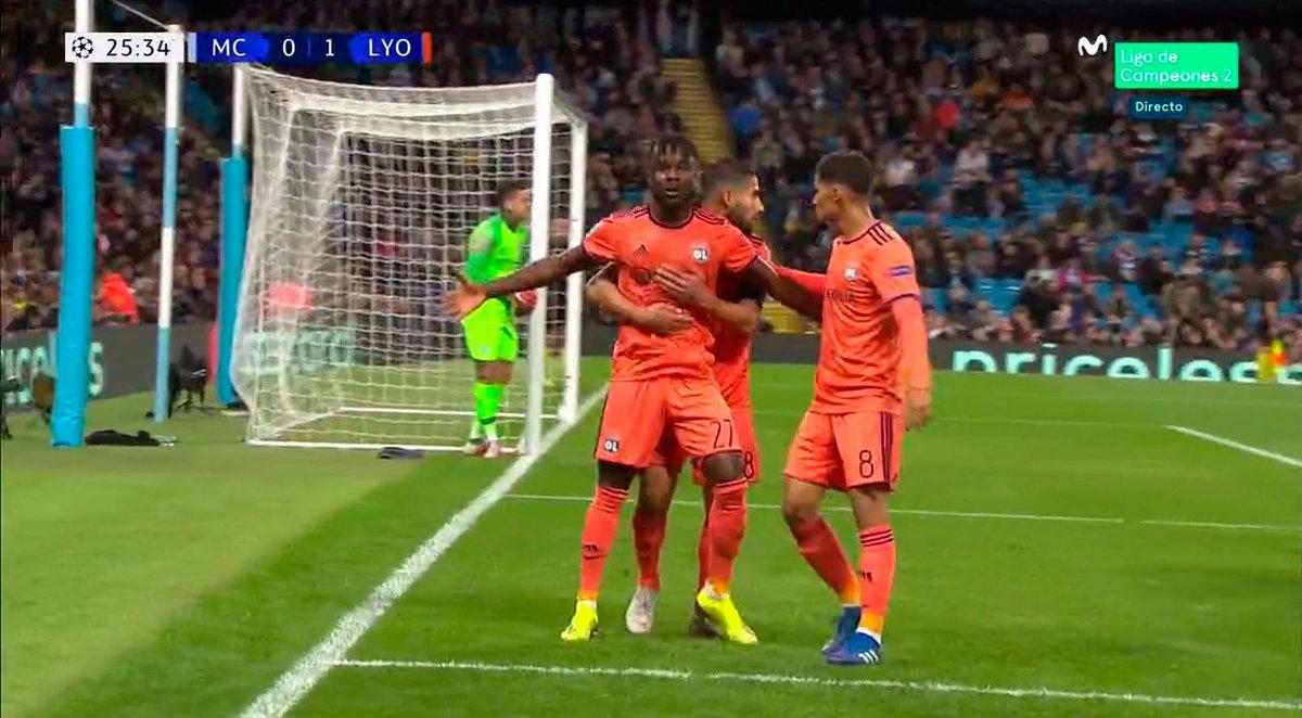Al City le toca remar a contracorriente. Cornet pone por delante al Lyon. #ChampionsMLC