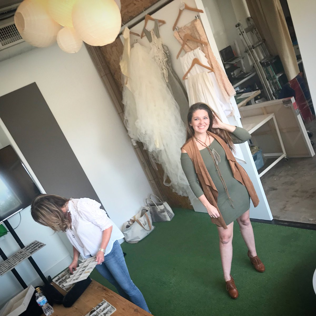 We loved hosting @mobfashionweek recently for model fittings, photo shoots and hair/makeup. Cant wait to see them walk the runway, Saturday, Sept 22 at @fortmobile // Tickets are $30/online & $40/door - only a few left....don't wait! #fashionweek #somobile #coworking #mobtownpic.twitter.com/t4PeqEZTOI
